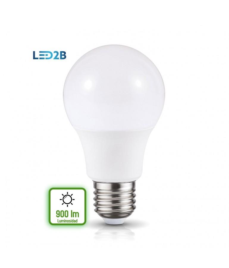 LED Estándar A60 10W E27 HTPC+ Aluminio 220°