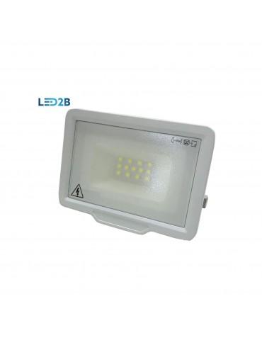 Foco proyector LED Extra Slim 10w Blanco