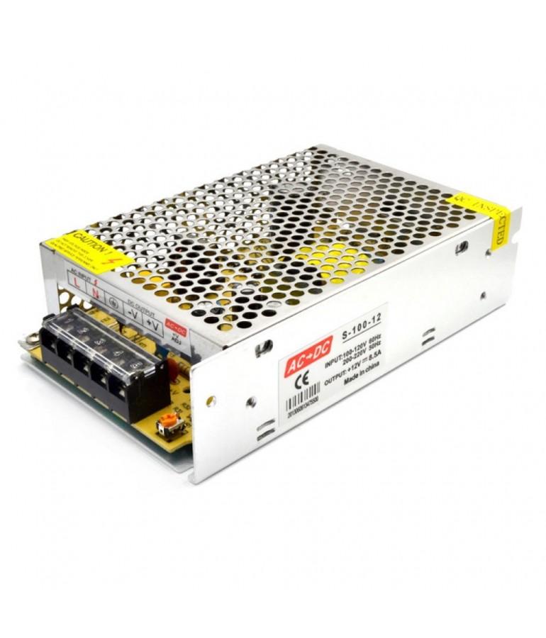Fuente Alimentación 100W 12VDC Metálica IP20
