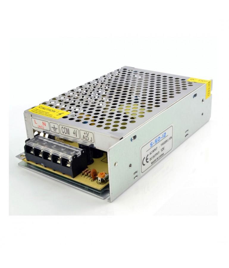 Transformador LEDs AC230V/12VDC 50W/4,16A