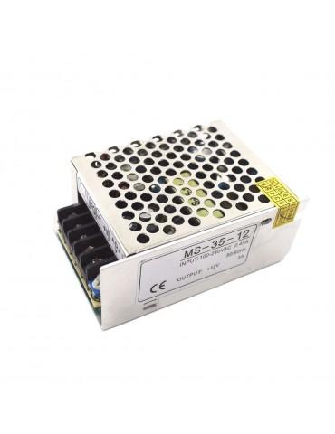 Fuente Alimentación 35W 12VDC Metálica IP20