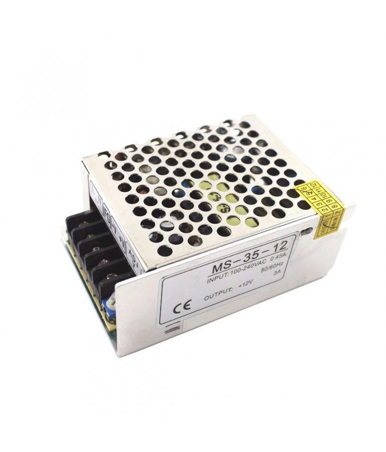 Transformador LEDs AC230V/12VDC 35W 2,91A