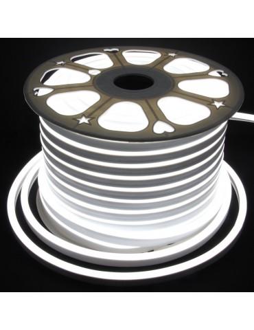 TIRA DE LED NEÓN AC230V 14,4W/m IP65 120°BLANCA FRÍA SMD3528