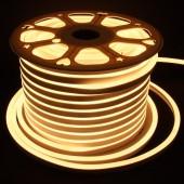 TIRA DE LED NEÓN AC230V 14,4W/m IP65 120°BLANCA CÁLIDA SMD3528impermeable