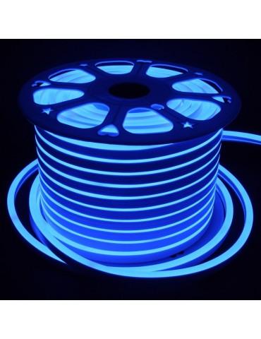TIRA DE LED NEÓN AC230V 14,4W/m IP65 120°AZUL SMD3528impermeable