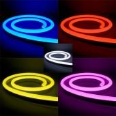 TIRA DE LED NEÓN AC230V 14,4W/m IP65 120°ROJO SMD3528 impermeable