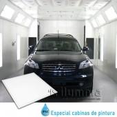Cabina de pintura Panel LED SLIM IP65 40W 600x600mm Premium