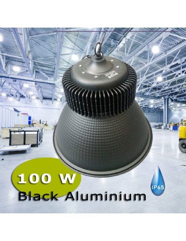 CAMPANA INDUSTRIAL LED 100W ALUMINIO BLACK