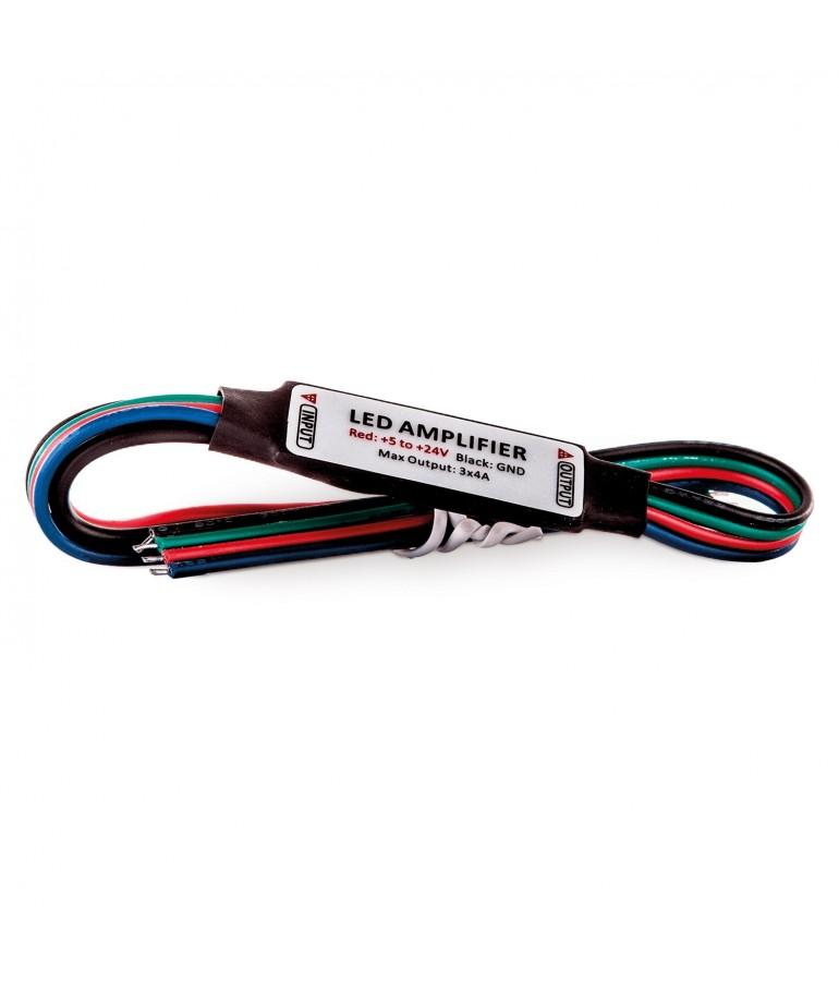 MINI Amplificador de señal RGB 12VDC