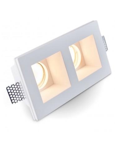 Aro rectangular empotrable de yeso modelo Torso fotografia