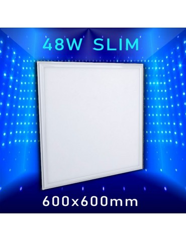 PANEL LED SLIM 48W 600x600mm