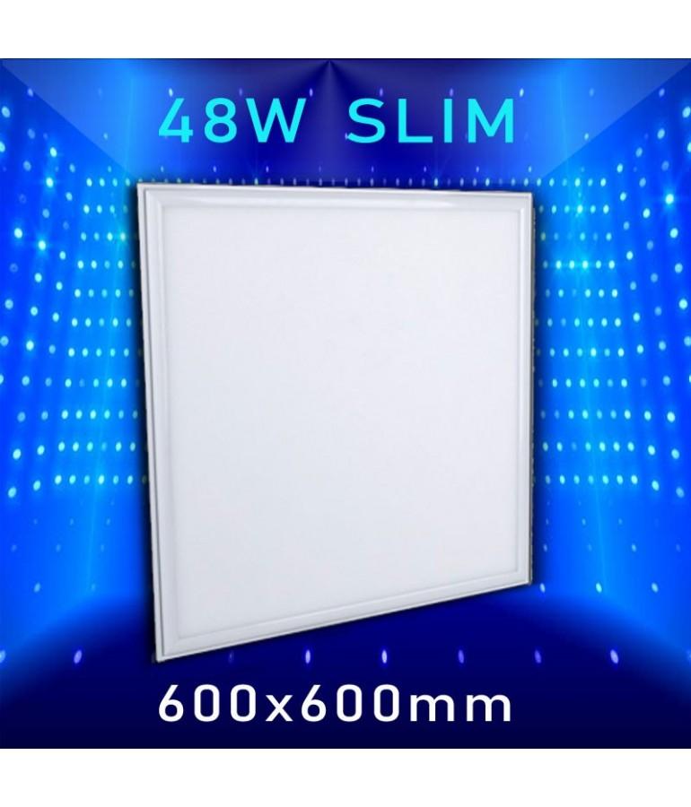 PANEL LED SLIM 48W 600x600mm