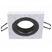 ARO Cemento BARI Negro para dicroicas gu10