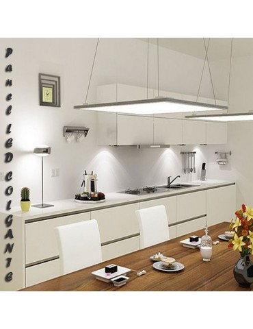 PANEL LED SLIM Suspendido 48W 600x600mm