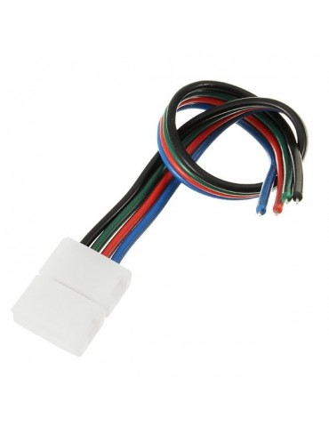 Conector con cable para Tiras de Led RGB DC 12V