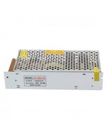 Fuente Alimentación 150W 12VDC Metálica IP20