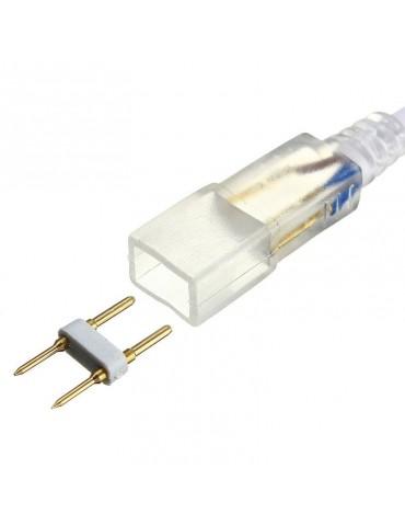 Conector para Tiras de Neón Led a 230V IP65