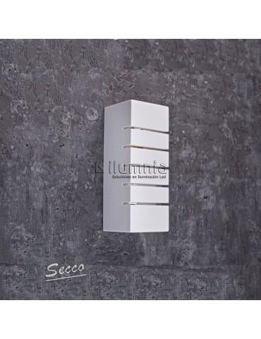Aplique de pared yeso SECCO Rectangular 1xE14