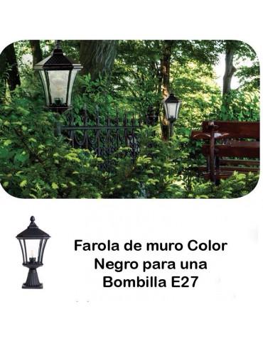 Farola de Jardín sobre muro LO4104