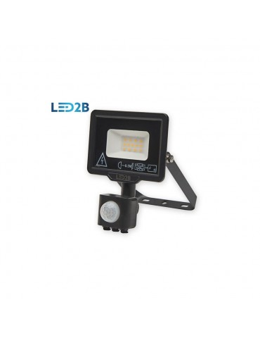 Proyector Led 10W sensor de movimiento