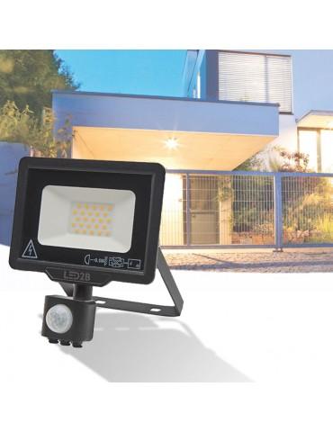 Proyector Led 10W sensor de movimiento foto