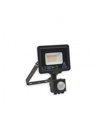 Proyector Led 10W sensor de movimiento vista