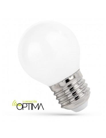 Bombilla LED Esférica G45 5,5W E27 HTPC Aluminio 220°