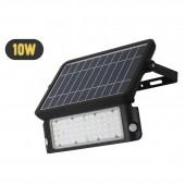 Foco Solar LED MHC 10W Sensor de movimiento