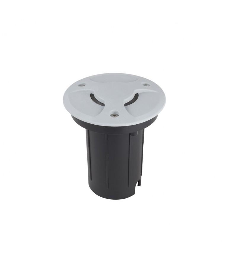 Foco Proyector LED de suelo Circular Gil 120 con Tapa empotrar