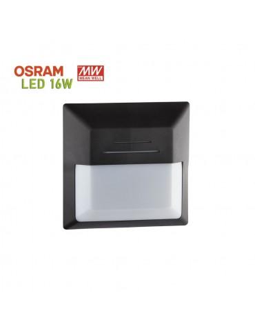 Plafón Cuadrado LED 16W Sofía-QC