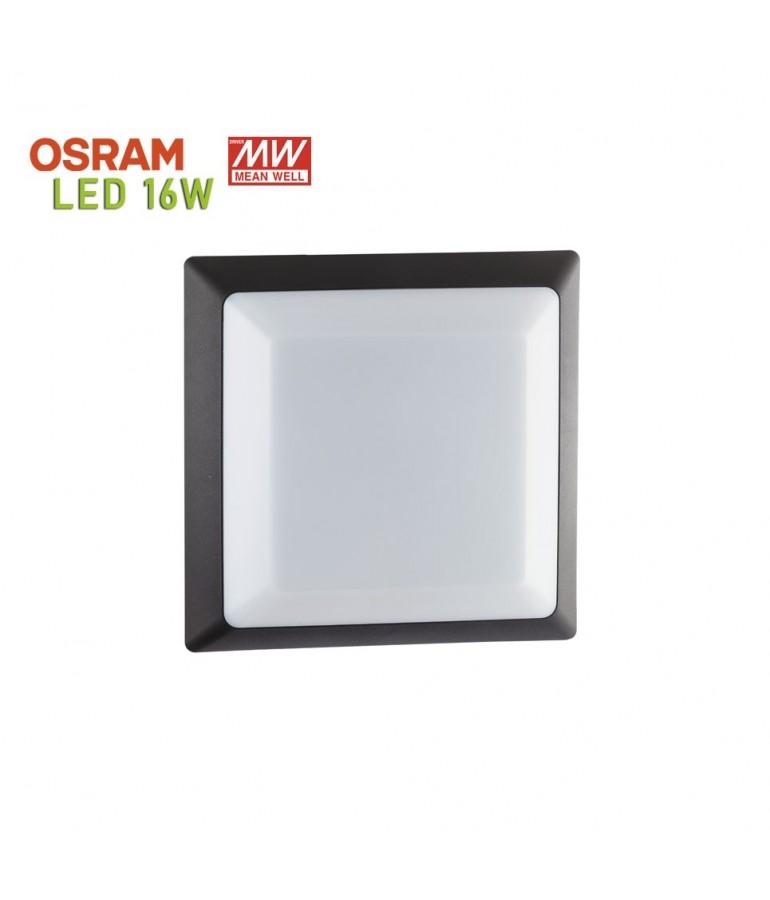 Plafón Cuadrado LED 16W Sofía-QS
