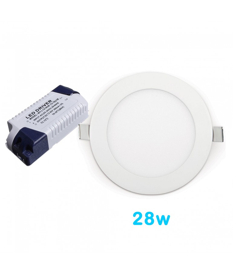 Driver Recambio Downlight panel led 28w