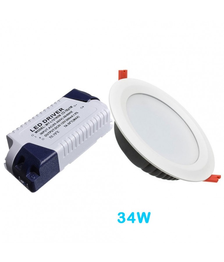 Driver Recambio Downlight panel led 34w