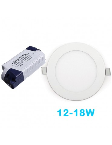 Driver Recambio Downlight panel led 12-18w