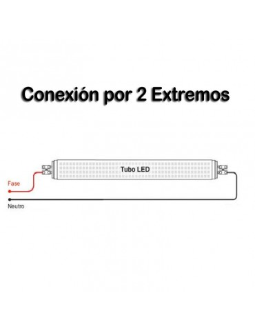 REGLETA ALUMINIO 150 cm PORTATUBO LED T8