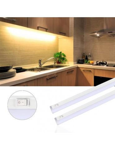 REGLETA LED T5 8W 60cm interconectable con interruptor