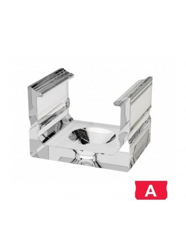 """Clip sujeción perfil ALTO """"A"""" aluminio tira led"""