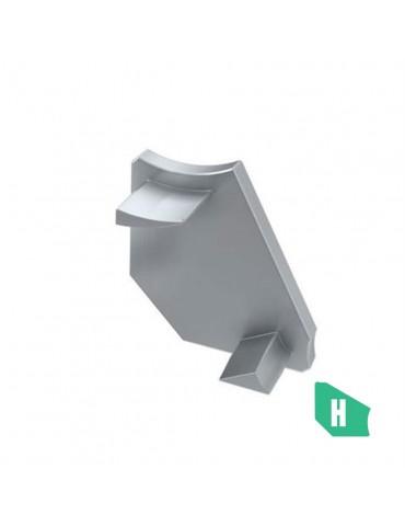 "Tapa final sin agujero perfil ""H"" ángulo 30-60"