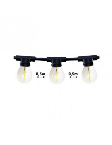 Guirnalda Exterior 10m 20 bombillas E27