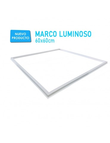 MARCO LUMINOSO LED 40W 600x600mm TECHO MÍA