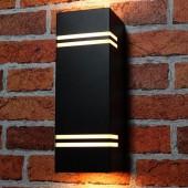 Aplique LED exterior doble cara jardín QUAZAR 7