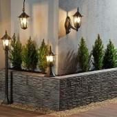 farolas jardín terraza