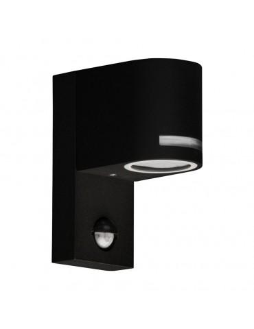 Aplique LED jardín sensor de movimiento QUAZAR 13 negro