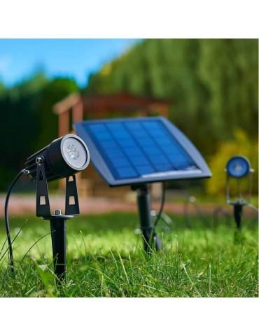 Conjunto LED solar jardín modelo SPIKE foto
