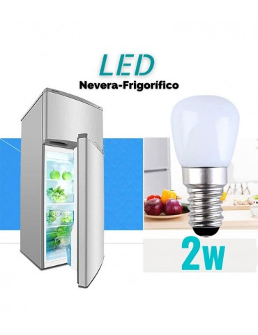 LED Nevera 2W E14 Cristal 360°