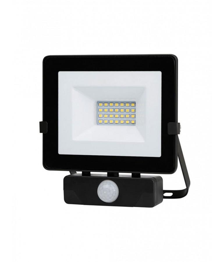 Foco Proyector LED 20W  sensor de movimiento IP65