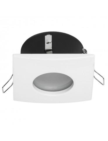 Aro de empotrar cuadrado IP44 Especial baños vista