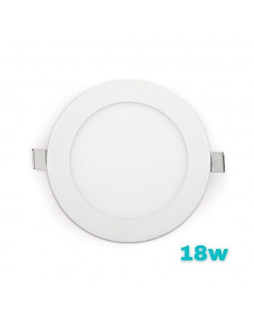 PANEL LED Downlight 18W Circular Slim Empotrable