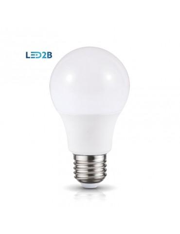 LED Estándar A60 7W E27 premium 360° 230V CRISTAL