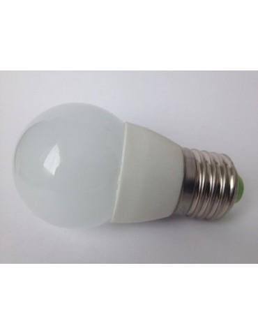Foto LED Esférica G45 5,5W E27 HTPC Aluminio 220°